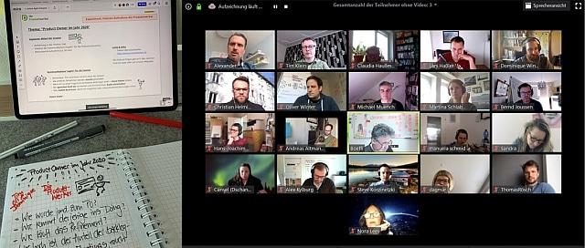 Podcast Aufnahme während der Agile Cologne