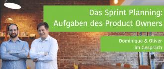 Aufgaben Product Owner im Sprint Planning